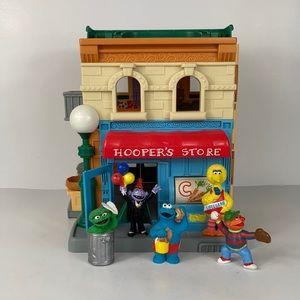 2010 Sesame Street Hooper's Store and Figures Set